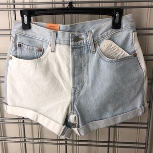2 tone shorts